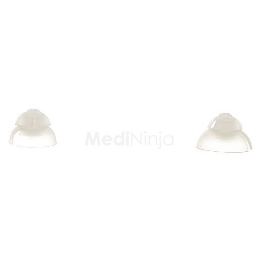 Hearing Aid Domes and Sleeves (pack of 6pc)