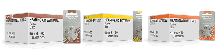 Hearing Aid Batteris